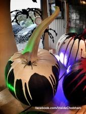 Chalk Paint Pumpkins at Inside Chobham 7
